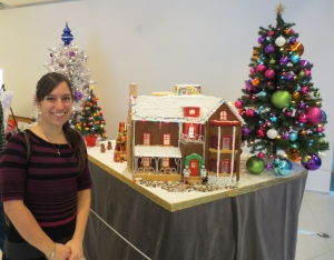 Mary and Gingerbread House