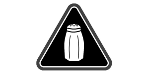 Sodium Warning Label